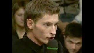 Павел Воля делает паузу в публичном выступлении