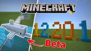 ⭐️Tudo que Chegou no Minecraft 1.2.20.1 Beta🐬(Update Aquatic)