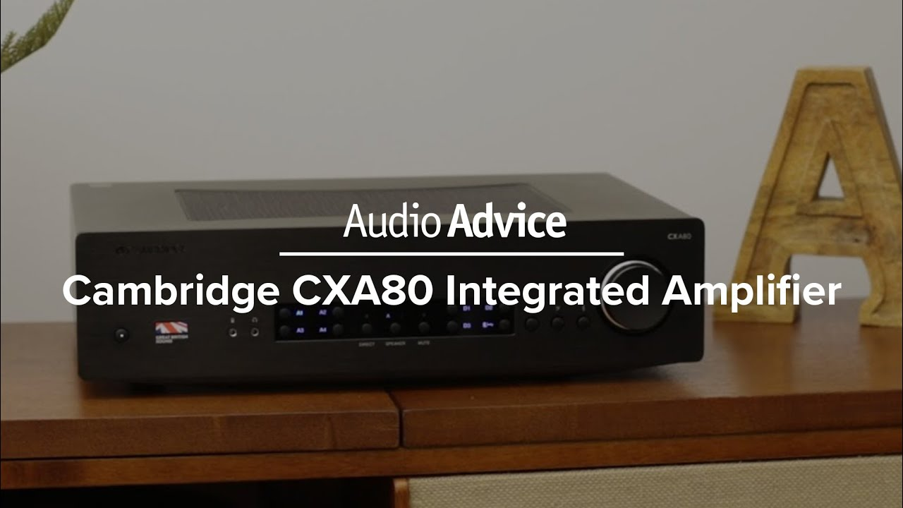 Cambridge CXA80 Integrated Amplifier