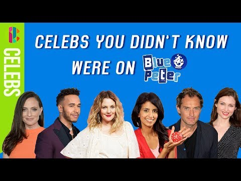Celebrities you didn't know were on Blue Peter!