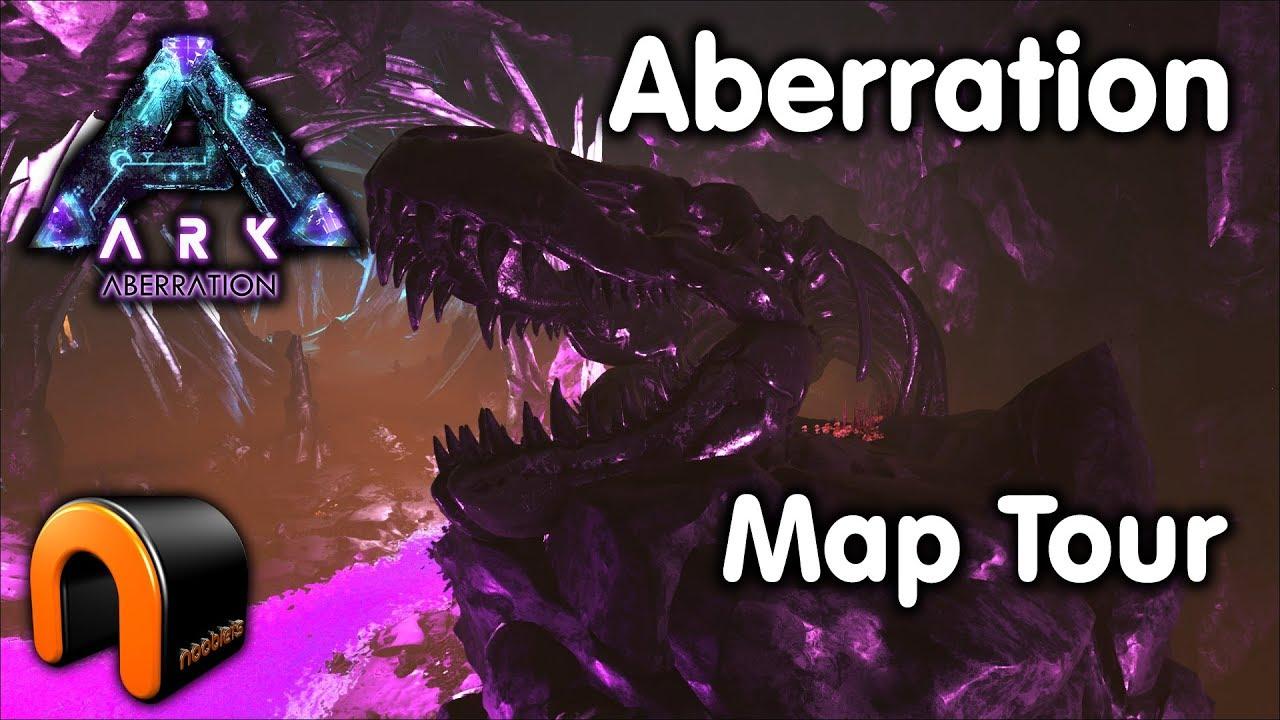 Ark Aberration Karte.Ark New Aberration Map Tour