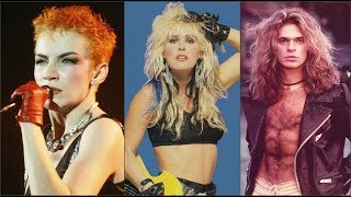 Pop Stars Of The 80s Then And Now