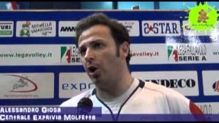 17-04-2013:Intervista ad Alessandro Giosa dopo la vittoria su Corigliano in gara3