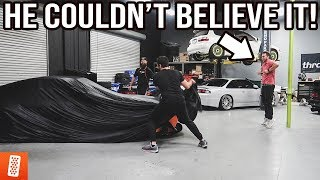 revealing-his-dream-car-best-reaction-ever