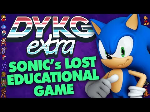 Sonic's Lost Educational Game [Cancelled Games] - Did You Know Gaming extra Ft. Greg