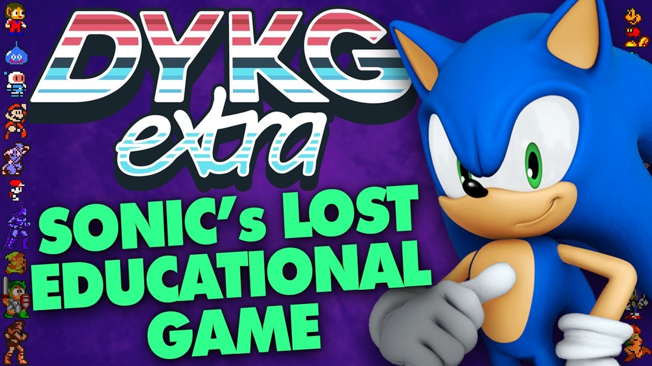Sonic S Lost Educational Game Cancelled Games Did You Know Gaming Extra Ft Greg
