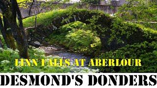 🚍 🚛  🌊 Linn Falls at Aberlour 12-13 May 2018 🌊 🚛 🚍 (RV / Motorhome / Van Life Scotland)