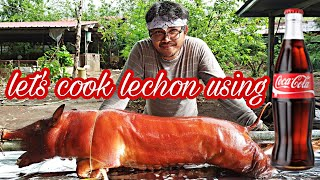 How To Cook Cebu Lechon using Cocacola