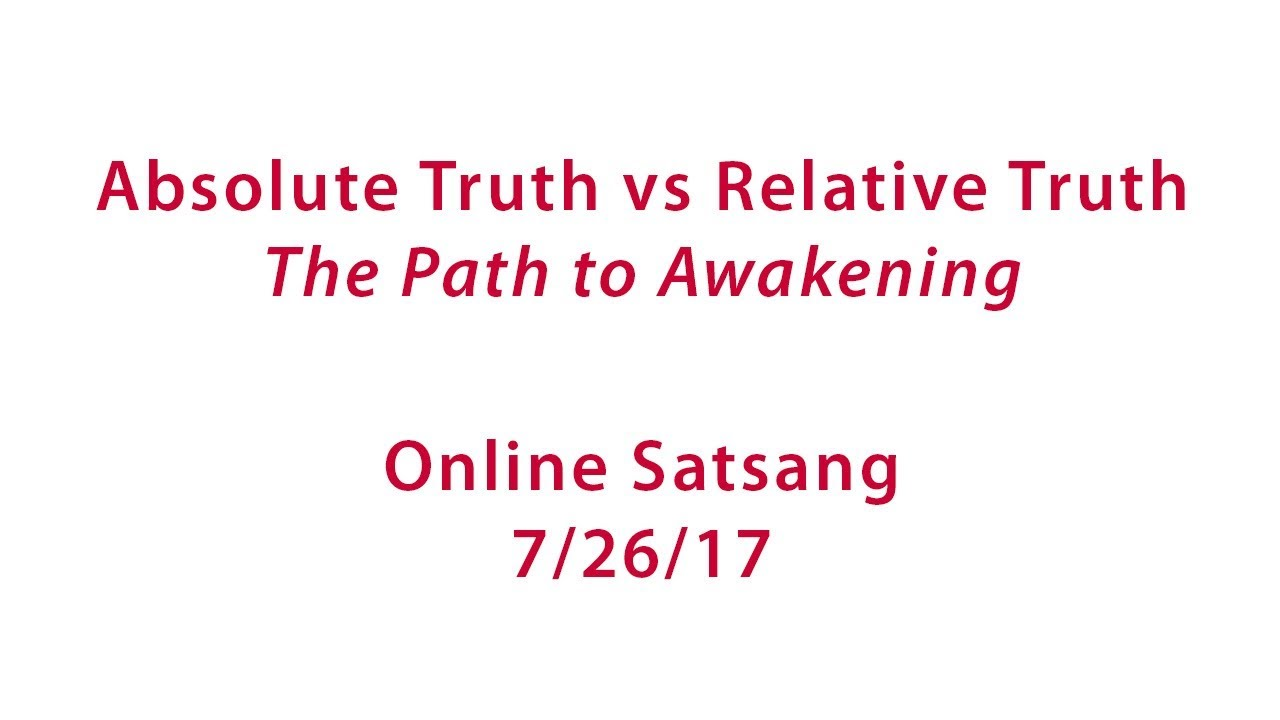 Absolute and relative truth. The difference of relative truth from absolute 74