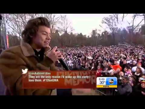 One Direction Perform What Makes You Beautiful   Good Morning America
