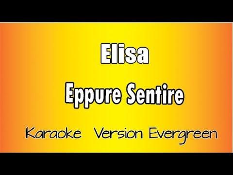 Elisa - Eppure Sentire (versione Karaoke Academy Italia)
