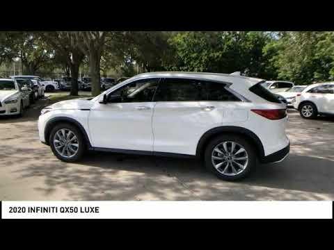 2020 INFINITI QX50 Coconut Creek FL XE01151