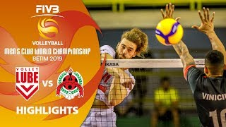 Lube Volley vs. Al-Rayyan - Highlights | Men's Volleyball Club World Champs 2019