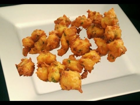 Cottage Cheese Fritters Recipe Video By Bhavna - Paneer Pakodas