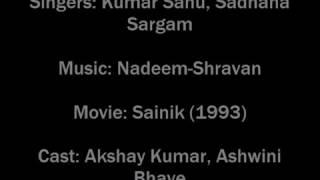 Kitni hasrat hai hume tumse dil lagane ki audio song!!! Sainik