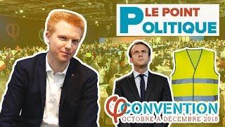 Le Point Politique : Macron, Gilets Jaunes, Européennes - Adrien Quatennens