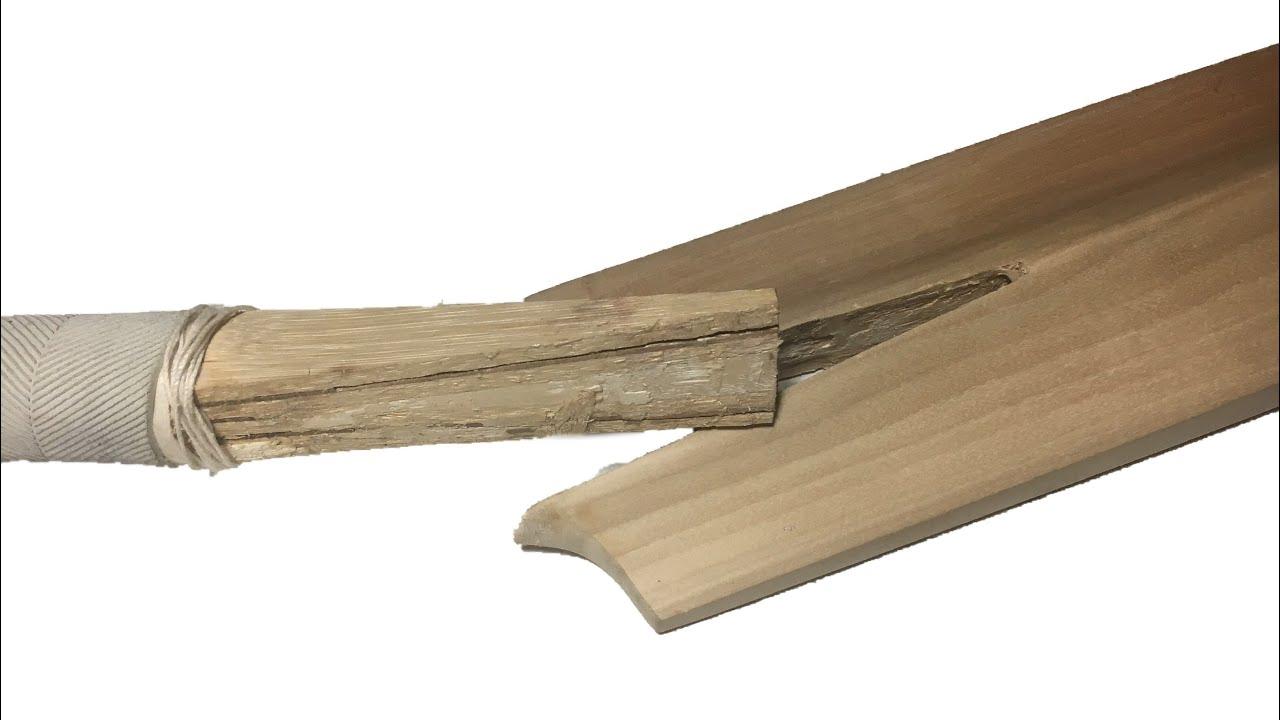 Repair Broken Cricket Bat Handle