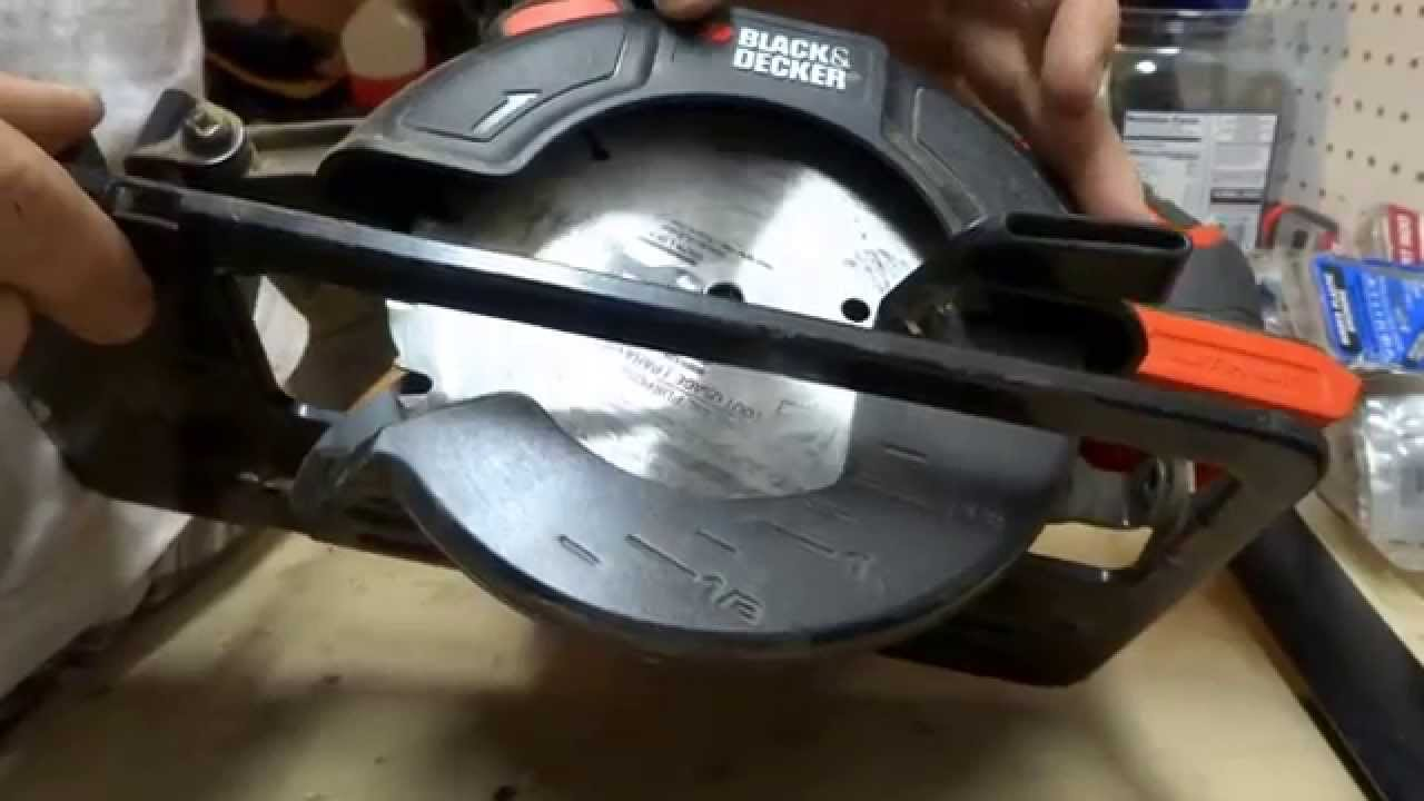 Blade to black decker 20 volt lithium circular saw youtube greentooth Choice Image