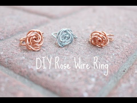 D.I.Y all the Time! Rose Wire Ring