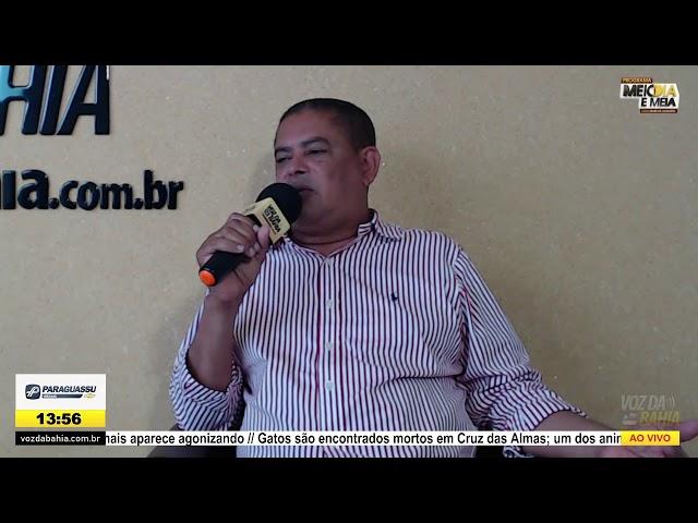 Programa Meio dia e meia LIVE com Chico de Dega presidente da Câmara de Vereadores de S. A. de Jesus