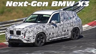 2017 BMW X3 G01 Spied Testing on the Nürburgring Nordschleife!