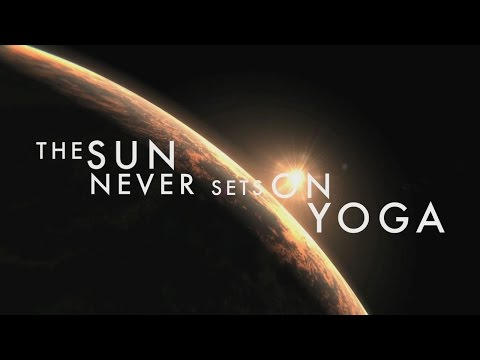 Sun Never Sets On Yoga - A 24-hour Journey of Sun Salutations Around the Globe