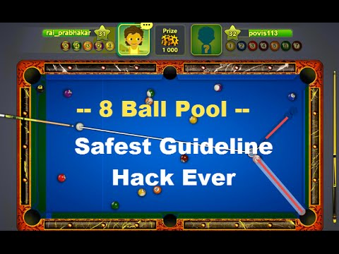 Miniclip 8 Ball Pool Guideline Hack - safest May 2016