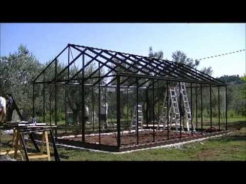 Assemblaggio serre da giardino youtube for Serre da giardino policarbonato