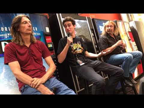 Judas Priest Q&A - Scott Travis and Ian Hill - Rock and Roll Fantasy Camp