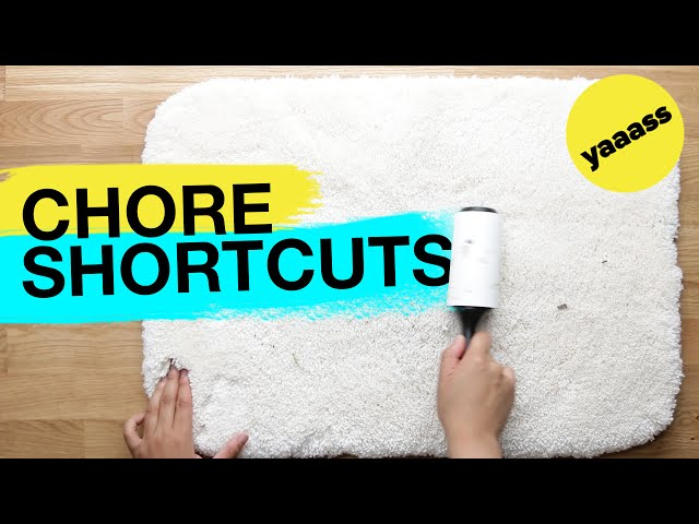 6 Clever Ways To Speed Up Your Chores