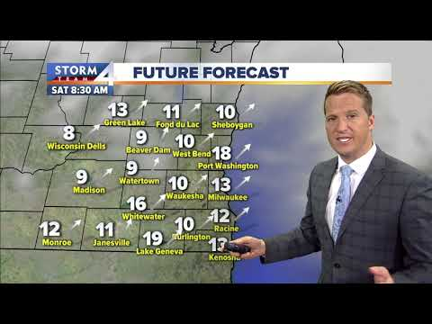 Wisconsin Weather Forecast 11-8
