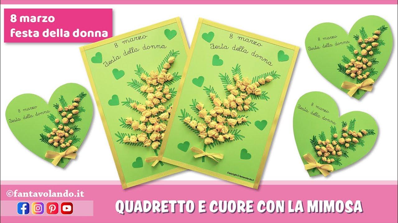 10 fogli di cellophane stampati con mimosa 100 X 140 cm festa della donna