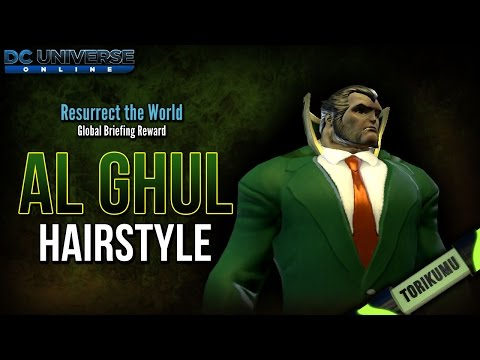 DCUO: Al Ghul Hairstyle (Resurrect The World Briefing Reward and Location Guide)