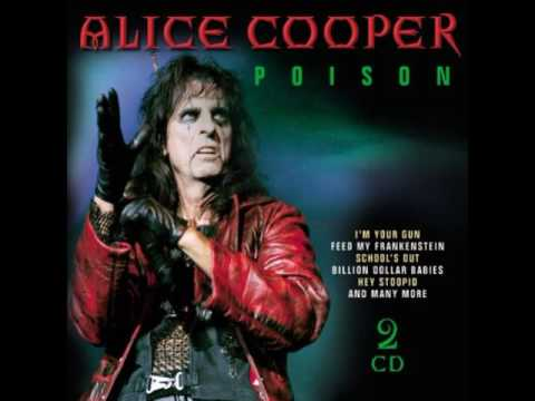 poison cover from alice cooper with scottish bagpipes. Black Bedroom Furniture Sets. Home Design Ideas