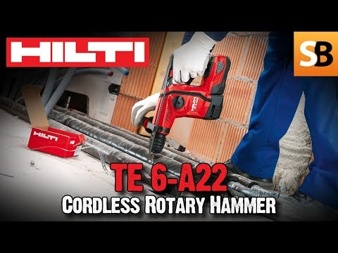 Hilti TE 6-A22 Cordless Rotary Hammer Drill