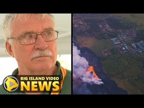 As Lava Nears, Officials Working To Kill Geothermal Wells (May 21, 2018)