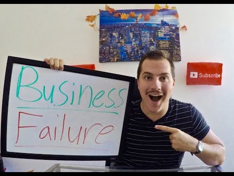 Business Failure! - How a failed business can HELP you!