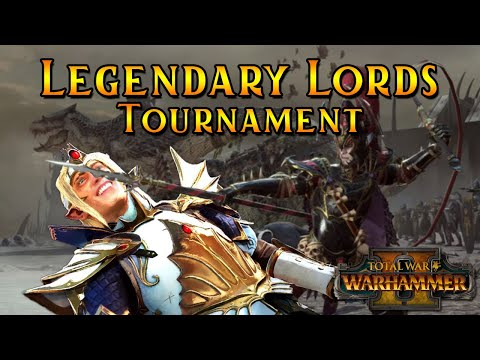 The Legendary Lords Tournament | Elimination Rounds Part 2 - Total War Warhammer 2 Multiplayer