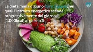 Dieta mima digiuno: cos'è e come funziona