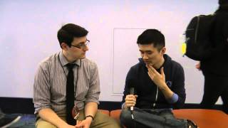 """Wife on commentating MLG and """"we eSports now"""" : Interview at MLG Anaheim"""