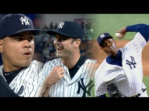 MIN@NYY: Yankees' relievers