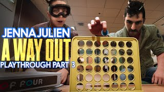 JennaJulien A Way Out Playthrough Part 3