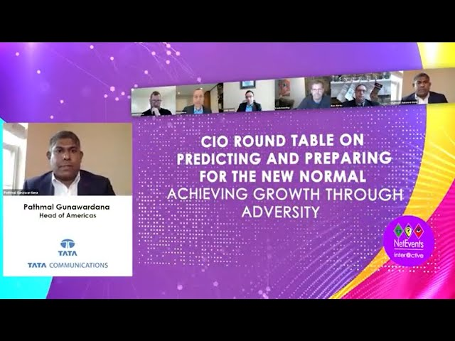 CIO Round Table on Predicting and Preparing for the New Normal – Trailer