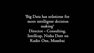 Nisha Dutt, Director - Consulting, Intellecap on Radio One