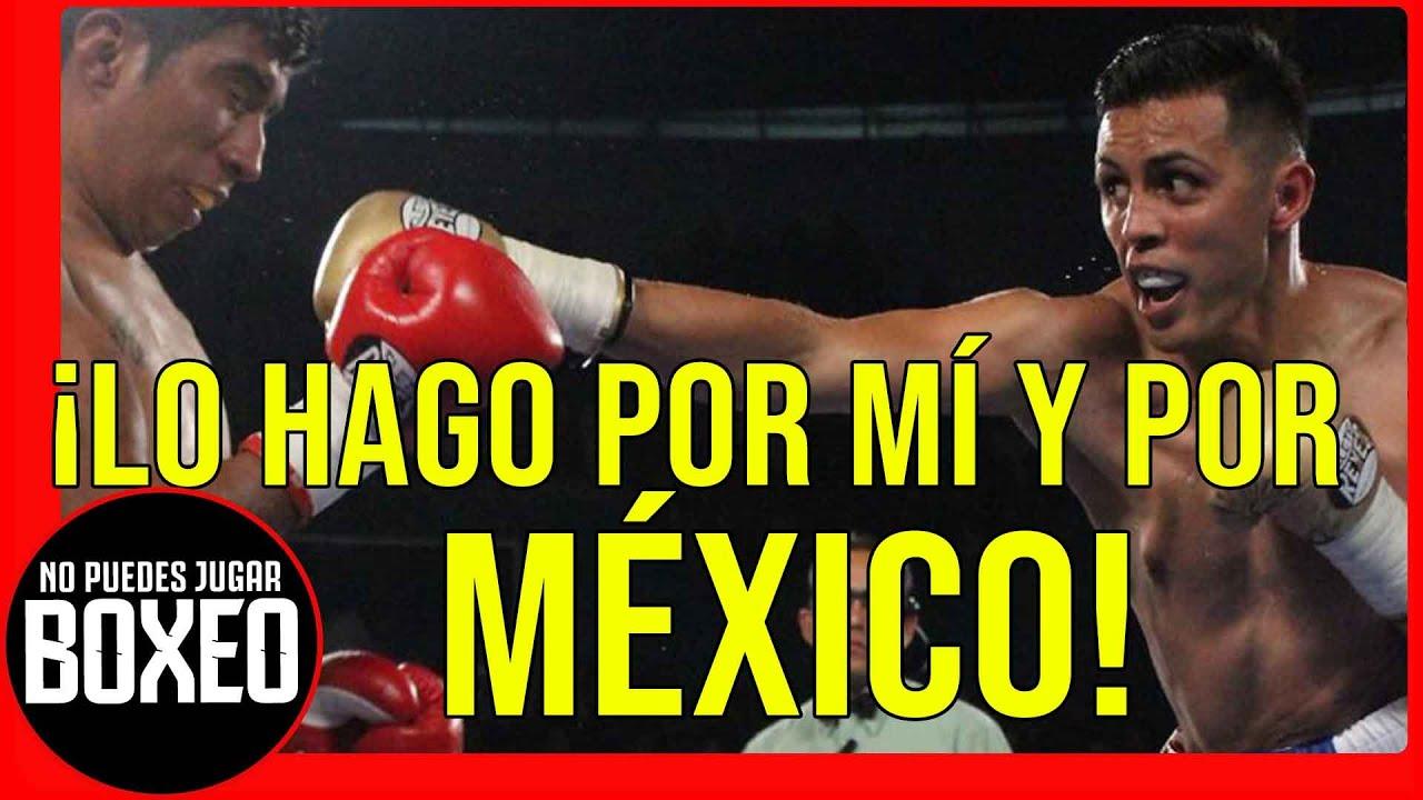 """JUAN PABLO """"PIVI"""" FLORES - ¡Esta PELEA va por MÍ, 👊 y POR MÉXICO! #boxeomexicano"""