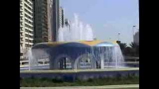 Etisalat Road Fountain Abu Dhabi