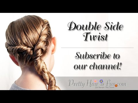 double-side-rope-twist-braid-|-medium-hairstyles|-pretty-hair-is-fun