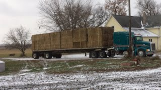 The Load Of Hay Finally Arrives And I Work On The Burner Unit For the Grain Bin!