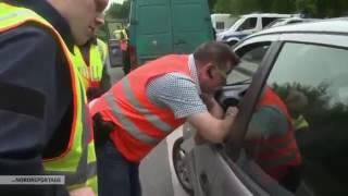 Autobahnkontrolle getarnt als Baustelle   Tricks der Polizei   Doku 2017 NEU in HD