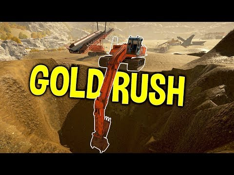 Gold Rush - The Best Gold Paydirt Possible! - Digging To Bedrock - Gold Rush The Game Gameplay